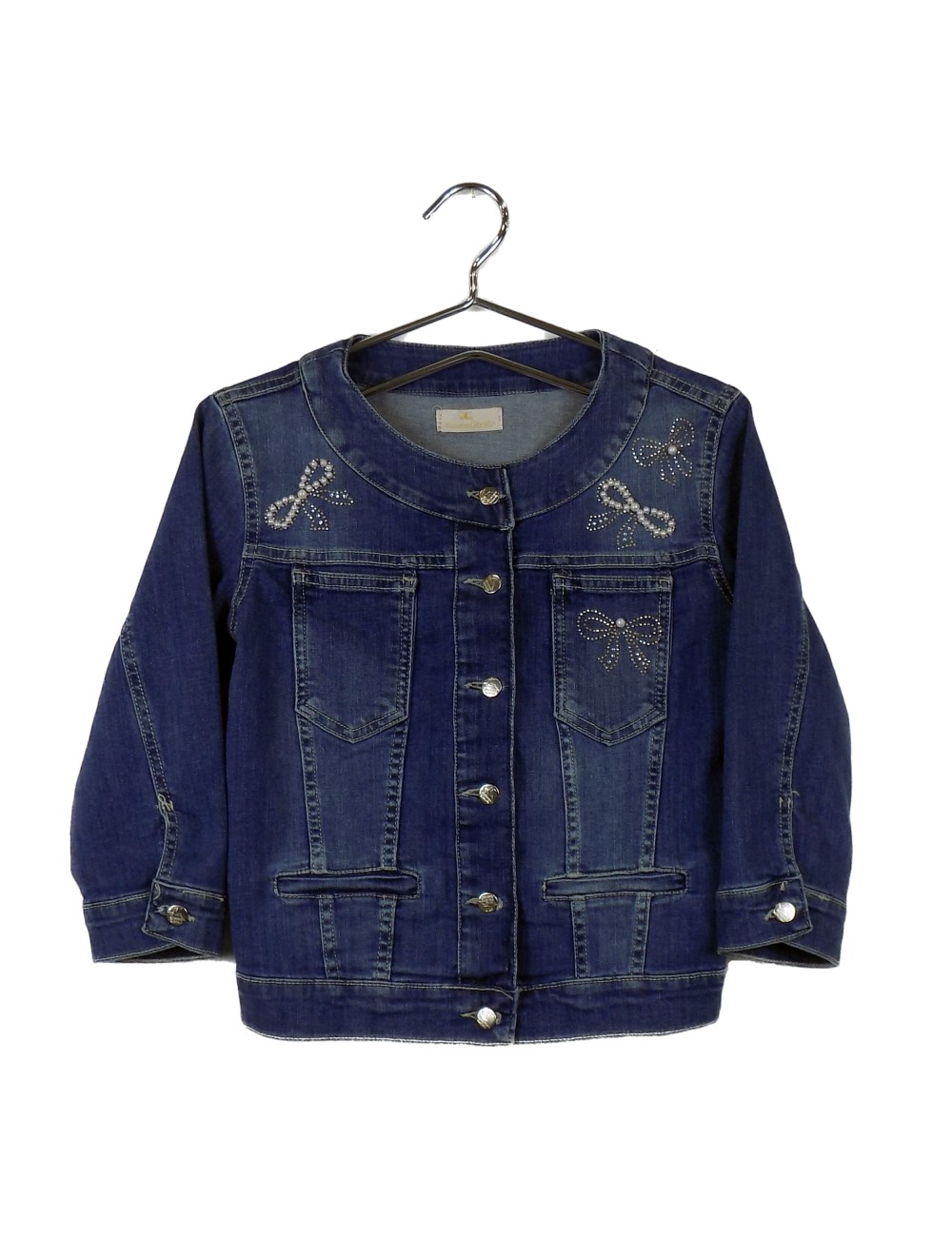 Giacca Jeans Corta Donna...