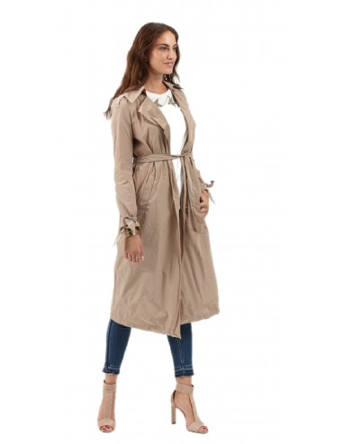 Trench Lungo Donna...